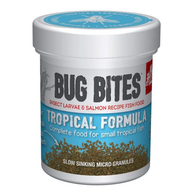 Fluval Bug Bites Tropical Micro Granules for Small/Medium Fish 1.6oz (45g)