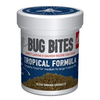 Fluval Bug Bites Granules for Medium/Large Tropical Fish 1.6oz (45g)
